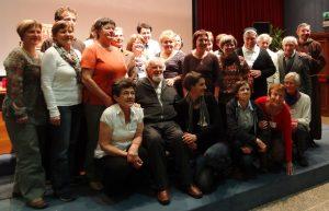 Srečanje slovenskih voditeljev z Larranago v Assisiju 2012